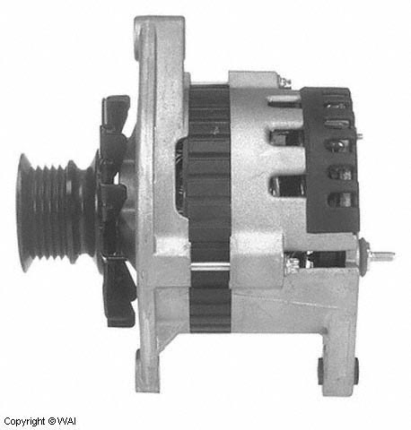 D/R 8700018 :  35SI Hp Pad Mount Alternator Reman for large image A1906_S